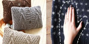 Как использовать старый свитер — 9 способов